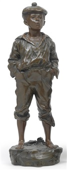 figur mousse siffleur by vaclaw bernard szczeblewski