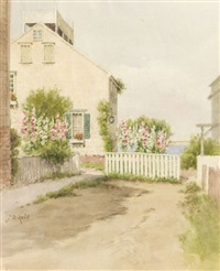 gorham's court, nantucket by jane brewster reid