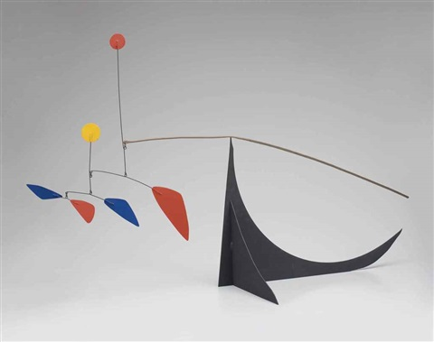over the long black tail by alexander calder