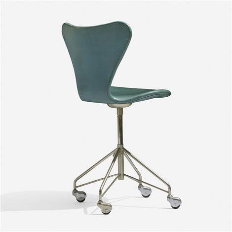 sevener chair, model 3117 by arne jacobsen