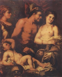 hercules and iole by francesco rosa
