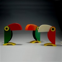 tischlampen tucano (set of 3) by old timer ferrari