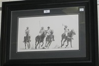 polo players, newmarket by sally hynard