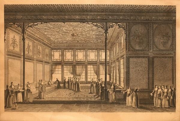 harem topkapi palace by antoine ignace melling
