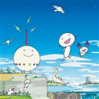 planet 66 by takashi murakami