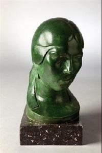 cabeza de mujer by aurelio lopez azaustre