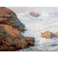 ogunquit coast, maine by william henry lippincott