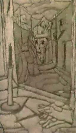 la rue de village vue par la fenetre by stella mertens