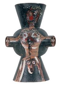 vaso in ceramica by roberto matta