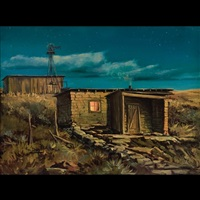 cabin on the prairie by ron bailey