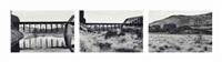 petit through and pratt deck truss bridge, washington 1989 by lothar baumgarten