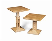 occasional tables (pair) by david linley