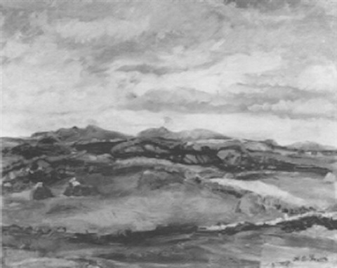 haystacks and irish mountains by h andrew freeth