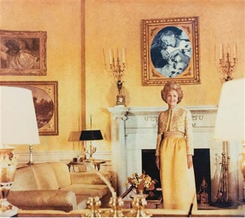 first lady pat nixon by martha rosler