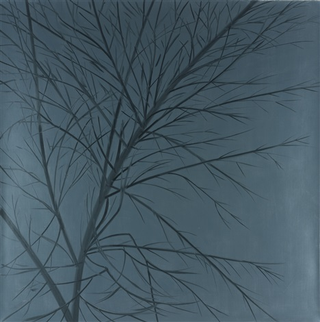 night tree by alex katz
