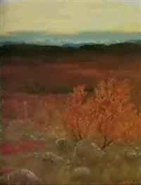 an autumnal landscape by elis aslund
