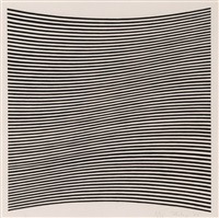 untitled (from. la lune en rodage) by bridget riley
