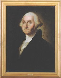 rare china trade portrait of george washington by gilbert stuart