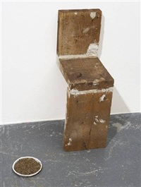 untitled (in 2 pieces) by miroslaw balka