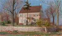 my connecticut home by charles courtney curran