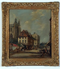 the haymarket, norwich by arthur edward davies