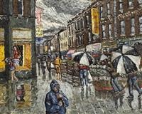 moore street, dublin by desmond kenny