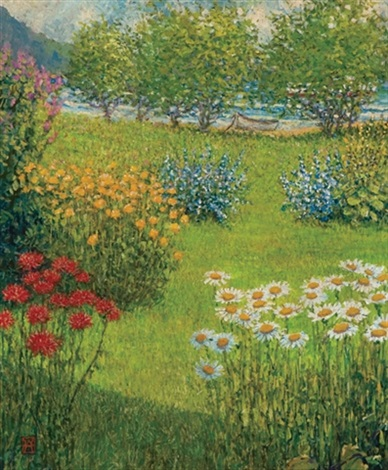 the perennial garden vermont by wally ames