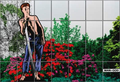 man-god (in 28 parts) by gilbert & george