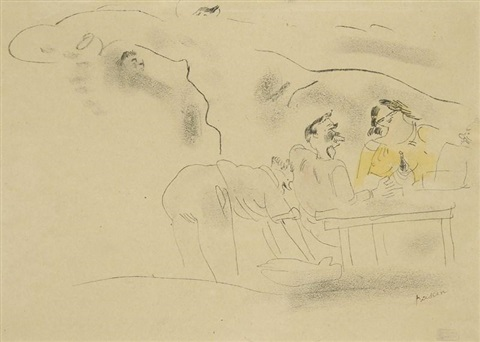 au bistrot by jules pascin