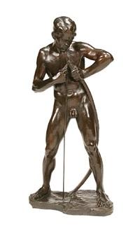 an archer jeune homme tendance son arc by walter mettler