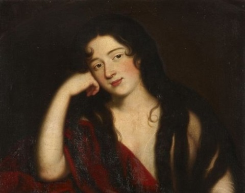 marie madeleine repentante by jean baptiste santerre