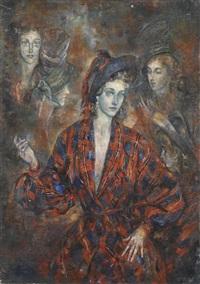 portrait de marthe by reynold arnould