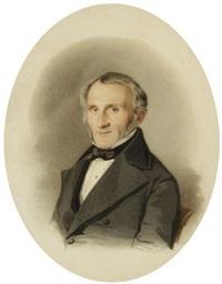 portrait d'homme by günther friedrich reibisch