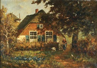 tending the garden by martinus jacobus nefkens