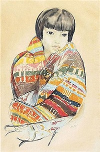 jeune vietnamienne by alix aymé