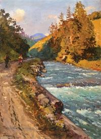 sparkling river by joseph bokshai