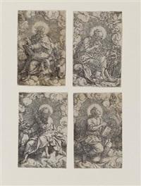 die vier evangelisten by heinrich aldegrever