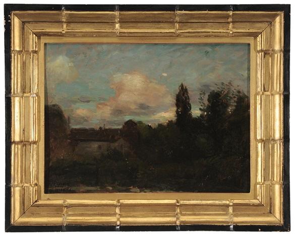 landscape sketch by paul cornoyer
