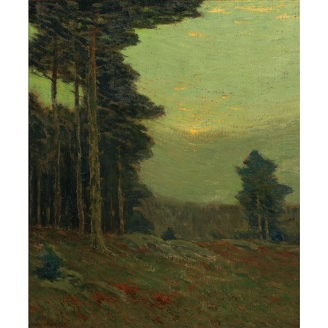 edge of the wood by charles warren eaton