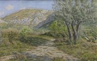 buis-les-baronnies by henri rivière