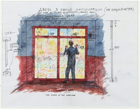 the door at the end of the installation doesnt openstudy by ilya kabakov