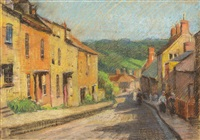 street in france by john william (sir) ashton