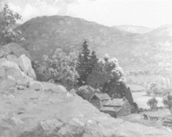 california hills by arthur j beaumont