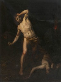 kain ja aabel (cain and abel) by hermann clementz