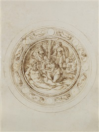 design for a basin by jacopo strada