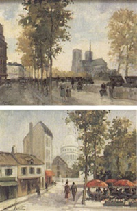 vue de paris by jean amiot