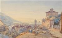 blick auf die bucht von neapel von posilippo aus by giacinto gigante