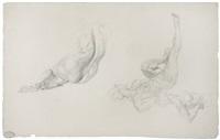 nudi femminili (studio) by rudolf jettmar