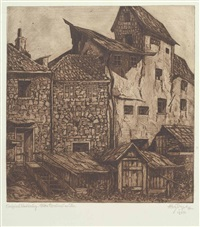 altes braunau am inn by aloys (wachlmayr) wach