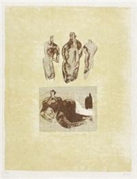 les poètes, paris: art et poésie by henry moore